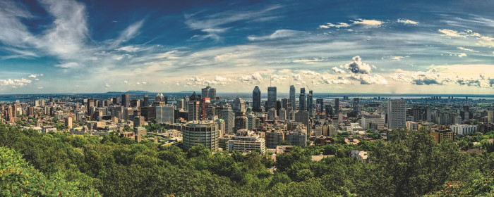 Montreal skyline - Photo par Matthias Mullie sur Unsplash